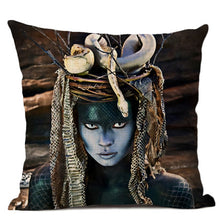 Load image into Gallery viewer, Voodoo Queen Beware Pillow Case