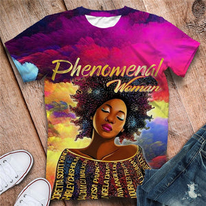 Phenomenal Queen Tshirt (Order 2 sizes Larger)