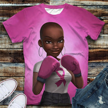 Load image into Gallery viewer, Fighter and Survivor Tshirt (Order 2 sizes Larger)