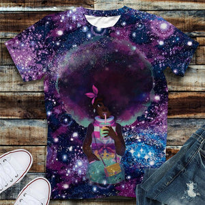 Soul Fro Tshirt (Order 2 sizes Larger)