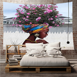 Spring Blossom Mother Nature Museum Wall Tapestry, Sofa Cover