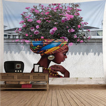 Load image into Gallery viewer, Spring Blossom Mother Nature Museum Wall Tapestry, Sofa Cover