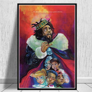 Team Cole and 'Ye Unframed Canvas Poster Collection