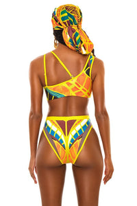 Butterfly Dragon Fashion Sheer Swimsuit (Scarf not included)