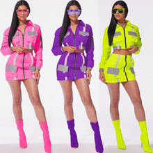 Load image into Gallery viewer, Highlight SwagFit Tennis Skirt Reflective Active Suit