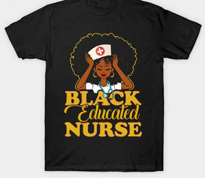 Black Nurses Are Goals Tshirt