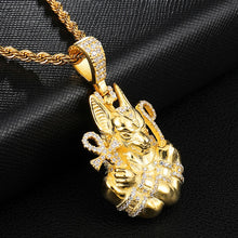 Load image into Gallery viewer, Anubis, Temple Guardian 18K Gold Plated Chain