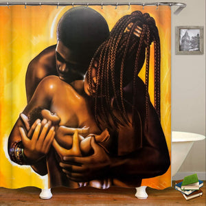Melanin Legacy Blessing Shower Curtain
