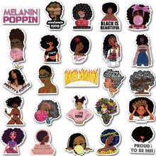 Load image into Gallery viewer, Melanin Awareness Sticker Collection