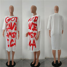 Load image into Gallery viewer, Prayer for American Salvation Fashion Dress