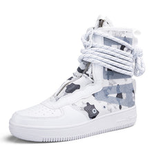 Load image into Gallery viewer, Air Strapped Secure Super High Top Sneaker Boots