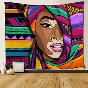 Melanin Museum Home/Office Tapestry