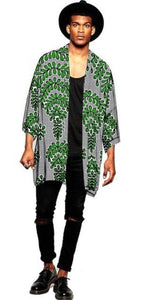 Fashion Ankara Men's Jacket