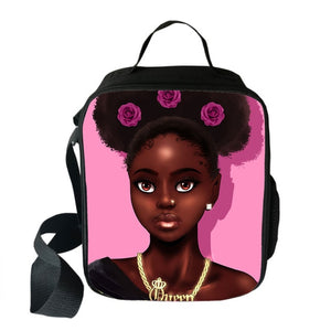 Black Princess Insulated 2020 Back-to-School Lunch Bag