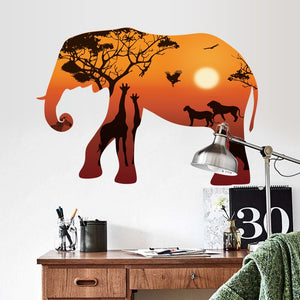 Africa Safari Wall Vinyl