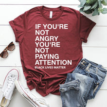 Load image into Gallery viewer, Anger Fueled By Awareness Tshirt