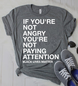 Anger Fueled By Awareness Tshirt