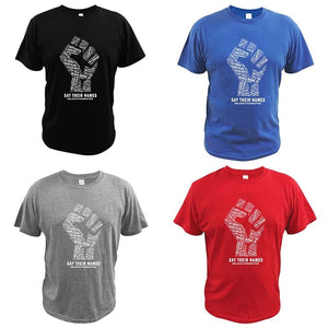 Say Their Names in Pursuit of Change of Oppressive Systems IMMEDIATELY tshirt