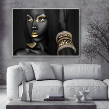 Load image into Gallery viewer, Black Bold Museum Gallery Canvas Poster
