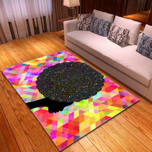 Load image into Gallery viewer, 2021 Colorblock Africa Vivid Comfort Cushion Non-Slip Rug