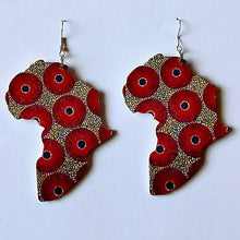 Load image into Gallery viewer, Beautiful Africa Earrings