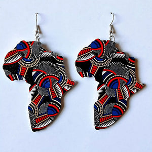 Beautiful Africa Earrings
