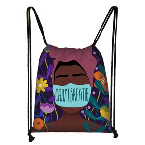 Collectible Statement Heavy-Duty Drawstring Bag