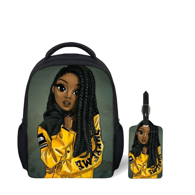Melanin Excellence 2020 Fall Schoolbag Collection