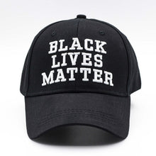 Load image into Gallery viewer, Black Lives Matter Statement Cap