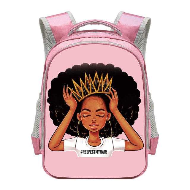Waterproof Black Princess 2020 Back-to-School Backpack