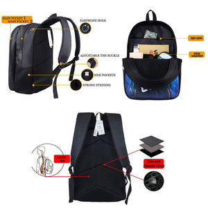 Black Queen 2020 Back-to-School Backpack