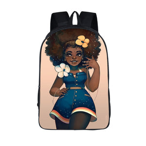 Black Princess, Strong Woman, Hard Worker 2020 Back-to-School Backpack