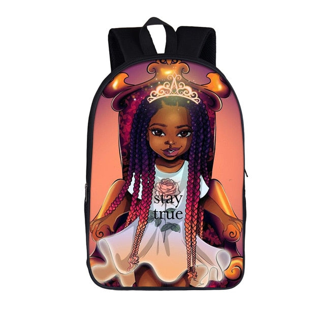 Black Princess Stay True 2020 Back-to-School Backpack