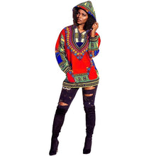 Load image into Gallery viewer, Dashiki Hoodie Jacket