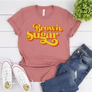 Brown Sugar 90's Vibes Tribute Tshirt