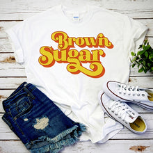 Load image into Gallery viewer, Brown Sugar 90's Vibes Tribute Tshirt