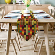Load image into Gallery viewer, Traditional Africa Kente Kwanza Heritage Table Banner