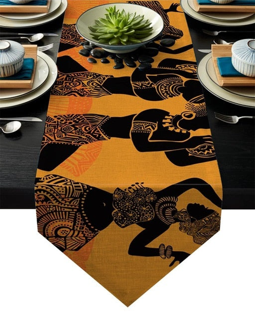 Contemporary Africa Table Banner