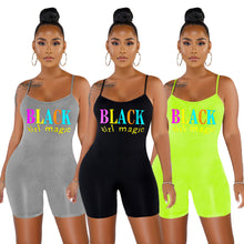 Load image into Gallery viewer, Black Girl Magic Playsuit