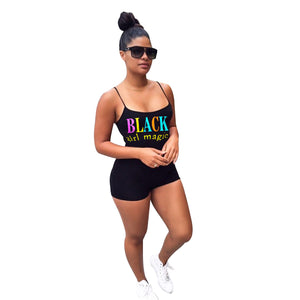 Black Girl Magic Playsuit