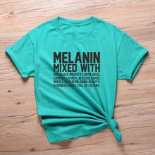 Load image into Gallery viewer, Melanin, God and Culture Tshirt