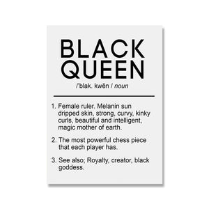 Royalty Defined Unframed Canvas Poster Set
