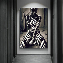 Load image into Gallery viewer, Warrior Pose Canvas Poster