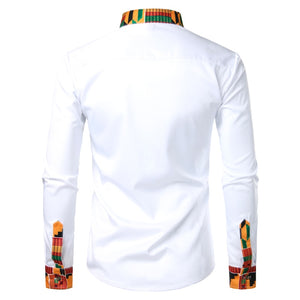 Melanin King Business Shirt