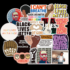 BLM Conceptual Awareness Sticker Collection