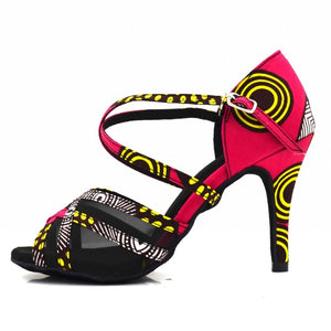 Afro-Salsa Professional Ballroom Dancing Shoes