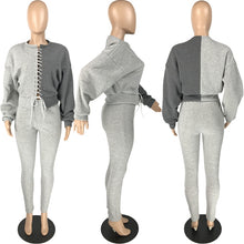 Load image into Gallery viewer, Fashion Oz Half n' Half Stitch Tracksuit