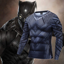 Load image into Gallery viewer, Black Panther Athletic Sport Shirt
