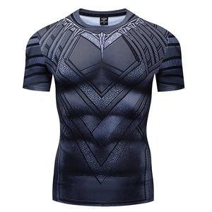 Black Panther Athletic Sport Shirt