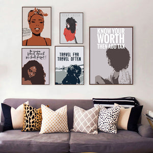 The Epitome Of Worth Canvas Poster Collection
